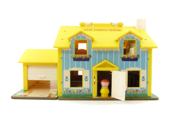 Fisher Price House Little People Play Family House And