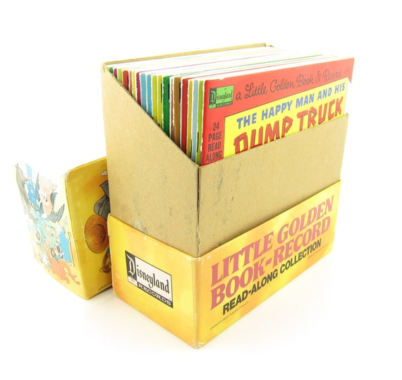 Little Golden Book Record Read Along Collection Boxed Set 20 Records