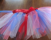 SALE  USA themed Red, White, and Blue basic Tutu size 2T