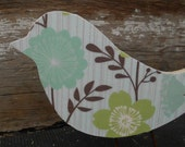 Rustic Shabby Chic French Country Dove Bird Decor