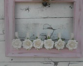 Rustic Wedding Shabby Chic French Country Place Card Holder