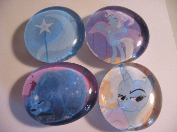 My Little Pony glass marble magnets Custom Order