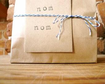 Three 1-dozen bags: classic vanilla organic handmade fleur de sel caramels