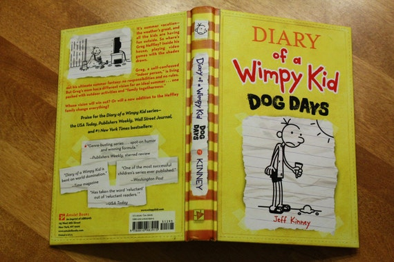 Large Ereader Case Cover Diary Of A Wimpy Kid Dog Days
