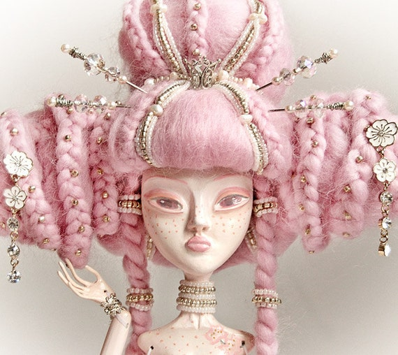 Hot SALE 20% OFF MIA, The Odd Princess Of Blossoming Sakura Collectible Art Doll. Free Shipping