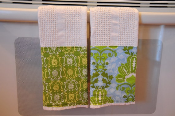 ON SALE -Decorative Kitchen Towels- set of two