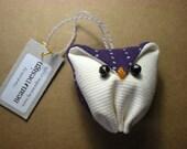 Purple Sock Owl