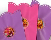 Disney Princess Rapunzel Tangled Goodie Gift Bags Set of 12 purple and pink thank you birthday party bags