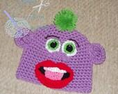 Pea-Nutt Crochet Hat Pattern (PDF)