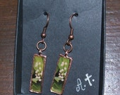 Lily of the Valley Photo Earings Garden Gems