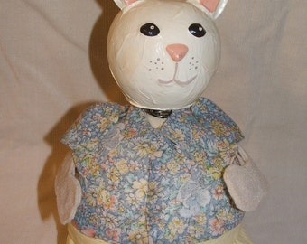 "Lady Easter Bunny ""Gourd Belly"""