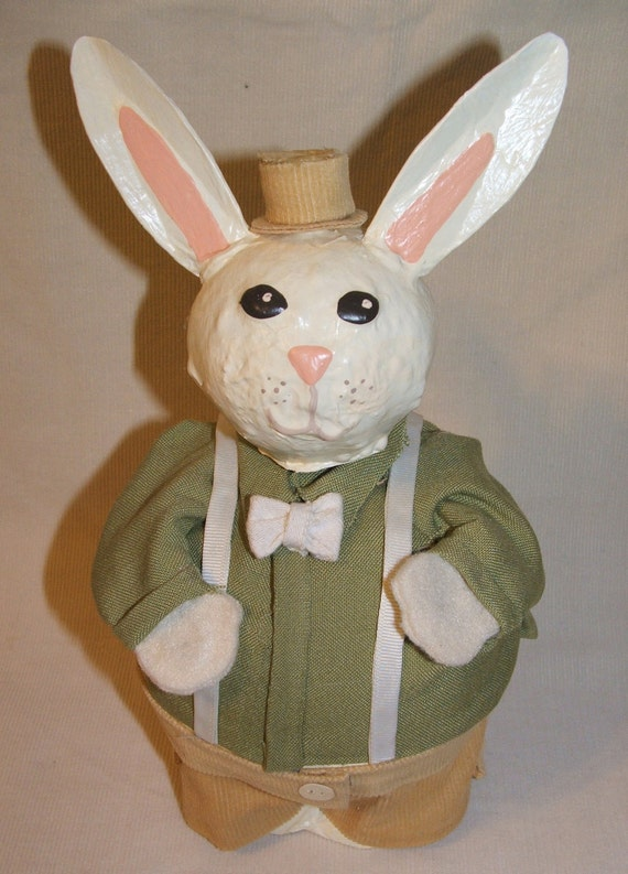 "Dapper Easter Bunny ""Gourd Belly"" Rabbit"