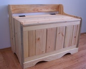 Natural Blued Pine Hope Chest