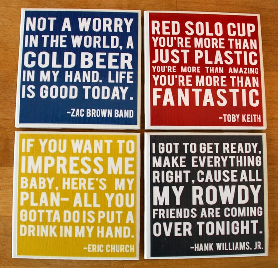 Country Music Lyrics - Coasters