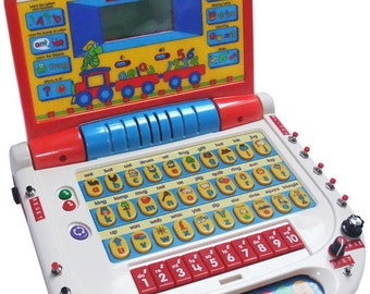 Circuit Bent VTech Letter Fun PC with 16 Modifications