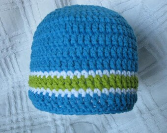 Baby Boy Crocheted Hat/Beanie