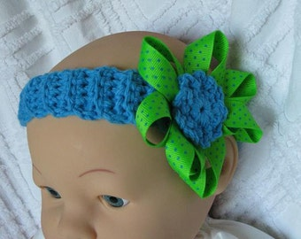 Baby Girl Crocheted Headband