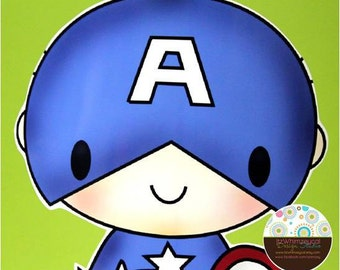 Captain USA America  Centerpiece