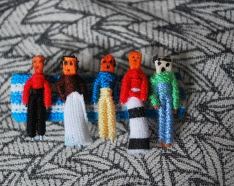 Guatemalan Worry Doll Barrette