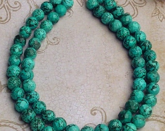 Sale : Multi Strand  Natural Turquoise necklace