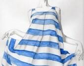 Jill Sander - blue striped dress