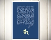 Taken - Film Quote Typography - Poster Print (A3 size)