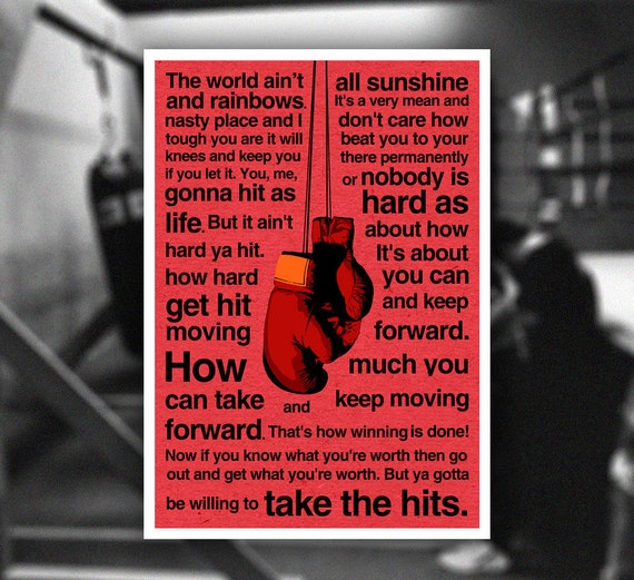 motivational quotes by rocky balboa quotesgram