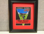Vintage 1930 Ohio State-Mount Union Official football program print ready for framing