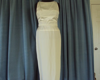 Cream Dress by Maggie London--Size 14--wonderful for Holiday parties, wedding