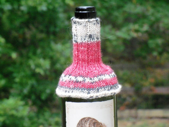 Wine Bottle Sweater, Wine Cozy, Wine Bottle Covers, Wine Decor, Wine Accessory, Bottle Cozy, Red Wine Sweater, Hostess Gift