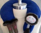 Katerinka the Little Russian Girl Travel Neck Pillow