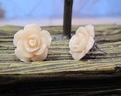 Romanced Rose Earring  - Post Stud Earrings