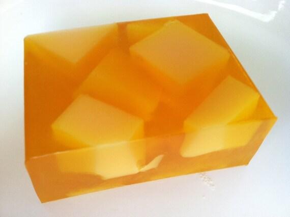 Orange Honey & Pink Grapefruit Goat Milk Soap