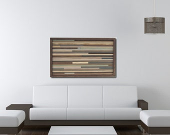 Abstract Painting on Wood- Wall Art - Large Art -Abstract-Wood Wall Art-Sculpture-Painting