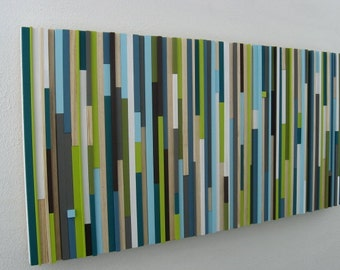 Modern,Wood Sculpture, Wood  Wall Art,,Reclaimed, Painting, Abstract, Trending Items,