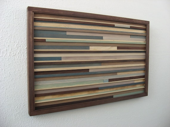 SALE Modern Abstract Wall Art - Wood Sculpture