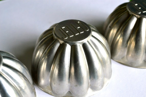 Vintage Small Jell-O Molds (3)