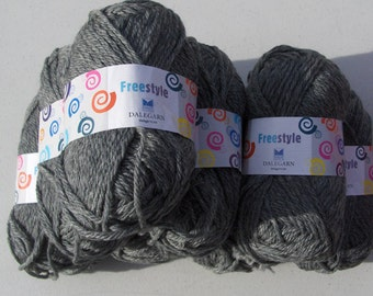 Dale of Norway Freestyle - Gray Heather  - 8 balls
