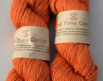 2nd Time Cotton knitting yarn Adobe