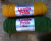 2 Lamb's Pride Worsted Weight Wool/Mohair