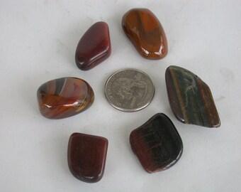 Tiger Eye Assortment - Six stones