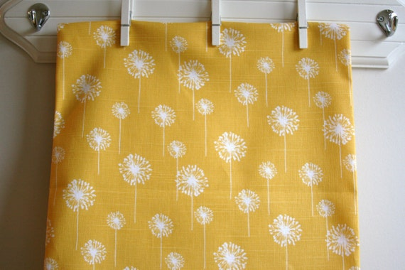Corn Yellow/Slub Home Decor Weight Fabric from Premier Prints - ONE HALF YARD