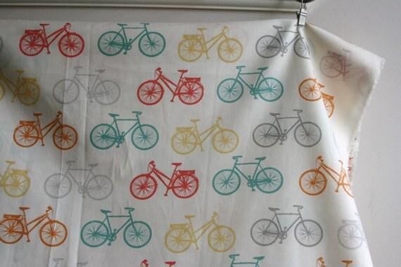 Organic Bike It- Commute Collection by Jay-Cyn from Birch Fabrics - ONE HALF YARD
