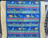 Blue Dinosaurs Panel