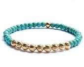 Stacking Bracelet, Magnesite, Gemstone