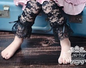 Black Lace leggings 5T, 6T, 7, 8