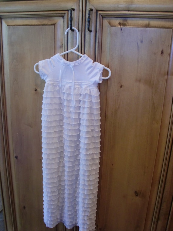 LAST ONE   baby blessing / christening / baptism / special occasion dress 0-3 months
