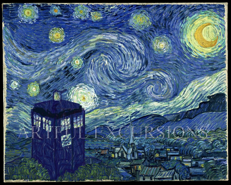Vincent Van Gogh Doctor Who Vincent Van Gogh Crying