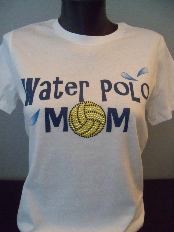 Waterpolo Mom Bling T-Shirt