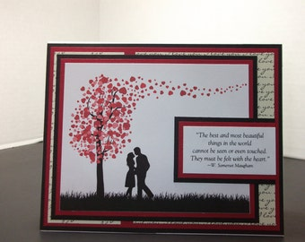 Silhouette Couple- Love Card